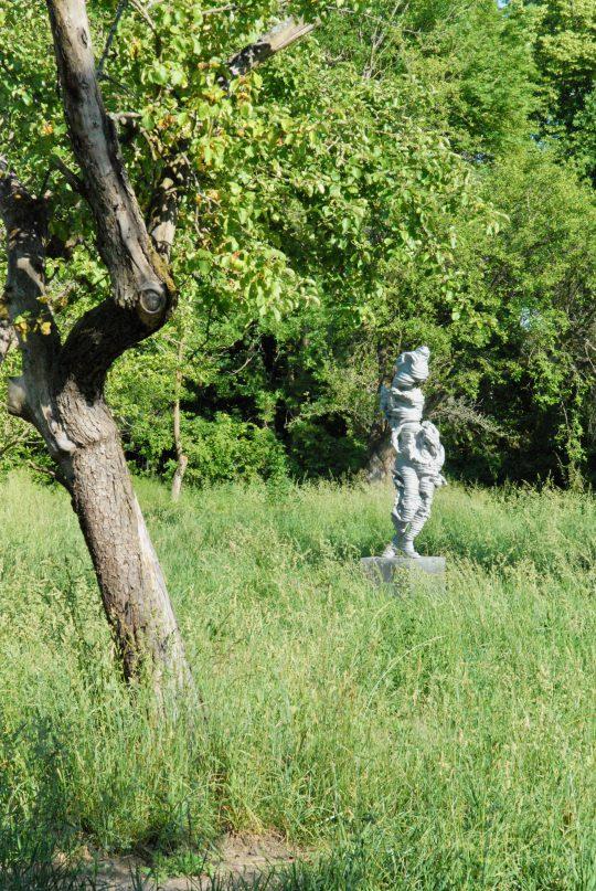A SCULPTURAL DIALOGUE BETWEEN ART AND NATURE