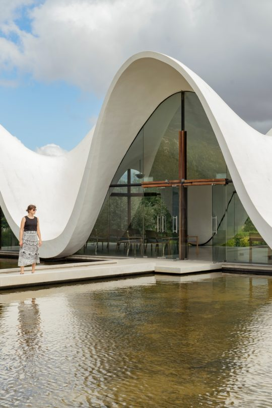 ADRIFT BETWEEN EARTH AND SKY: A VISIT TO BOSJES CHAPEL
