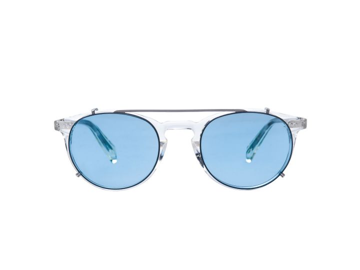 Paul Crystal / Skyblue Clip-on