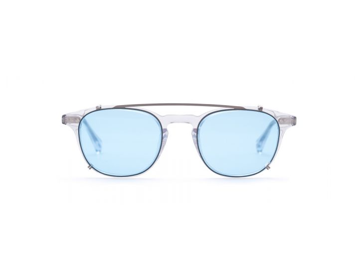 Henry Crystal / Skyblue Clip-on