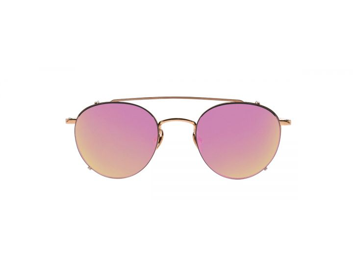 Jan Rose Gold / Clip-on Rose Pink Mirror
